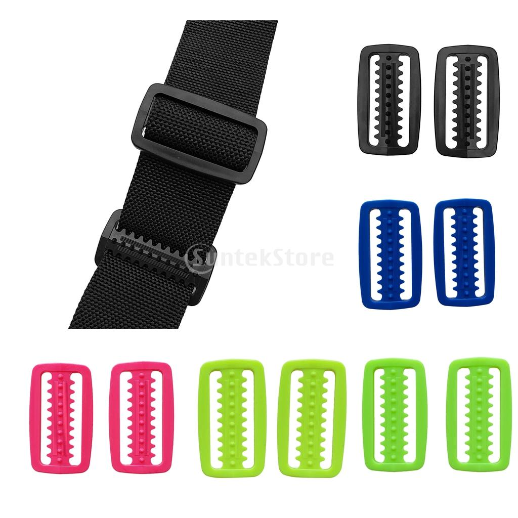 """6pcs Plastic Weight Belt Keeper Retainer Stopper For 2/"""" Webbing Scuba Diving"""