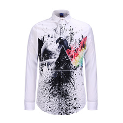 New fashion mens s tiger shirts print animal chemises homme summer harajuku shirts long sleeved casual.jpg 250x250