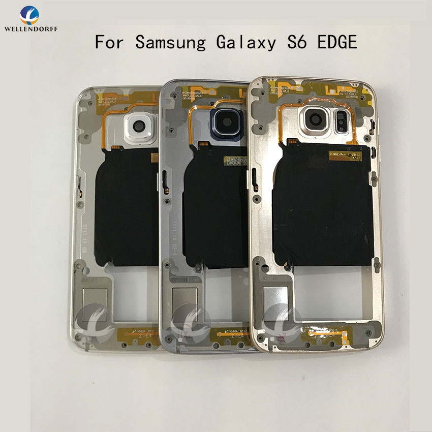 Middle Frame Chassis Plate Bezel Back Housing For Samsung Galaxy S6 edge G925F S6 edge plus G928F Replacemenrt PartsMiddle Frame Chassis Plate Bezel Back Housing For Samsung Galaxy S6 edge G925F S6 edge plus G928F Replacemenrt Parts