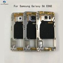 Ближний рамка Шасси плиты рамка назад Корпус для samsung Galaxy S6 край G925F S6 edge plus G928F Replacemenrt Запчасти