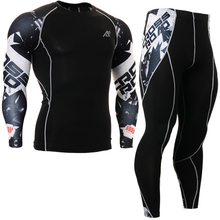 2016 Man Yoga sets High Quality spandex Men's Sport Suit Brand Workout set fitness Clothes For Male Fitness Tracksuits