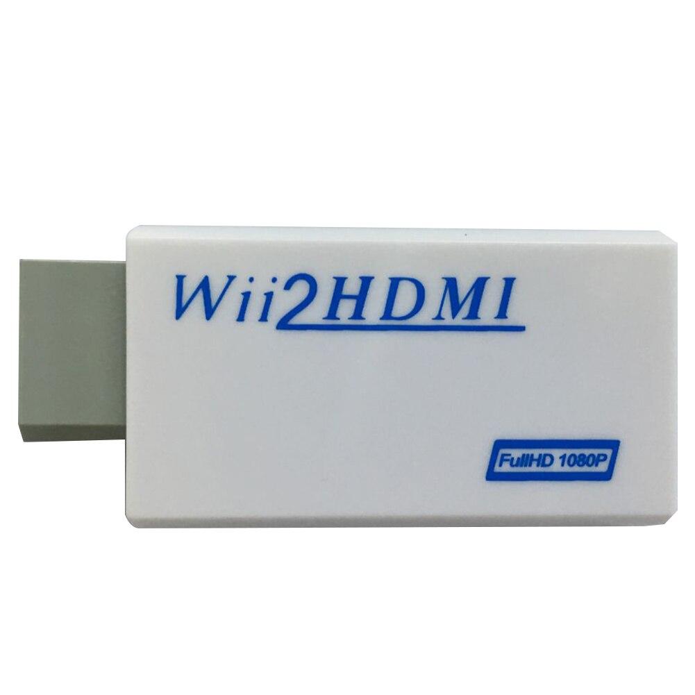 2019 новый высококачественный HDMI конвертер Поддержка Full HD 720P 1080P 3,5 мм аудио для Wii 2HDMI адаптер преобразования