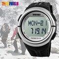 Reloj Digital de Calidad superior 1058 de Los Hombres Del Deporte Relojes Monitor de Frecuencia Cardíaca Resistente Al Agua Relogio masculino Wriswatch top para hombre de la marca de lujo