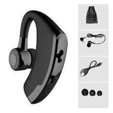 купить KAPCICE V9 Handsfree Business Bluetooth Headphone With Mic Voice Control Wireless Bluetooth Headset For Drive Noise Cancelling недорого