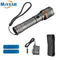ZK30 Cree XM-L T6 4000Lm Self Defense Tactical Led flashlight Torch Rechargeable powerful lamps 18650 5000mAh battery AC Charger
