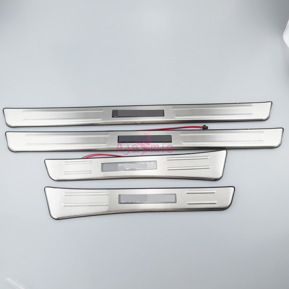 Accessories For Toyota Land Cruiser 100 LC100 J100 1998 2007 304 Stainless Steel Door Sill With