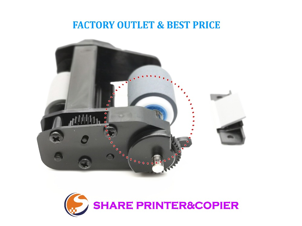C9937 68001 ADF Roller Kit for HP ScanJet 5590 7650 8200 8250 8270 8290 ADF Roller Assembly+Separation Pad Assembly|Printer Parts| |  - title=