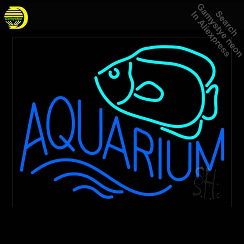Neon Signs For Sale >> Neon Sign For Aquarium With Fish Logo Neon Light Sign Restaurant Hotel Neon Signs For Sale Food Neon Lights For Sale Lamps