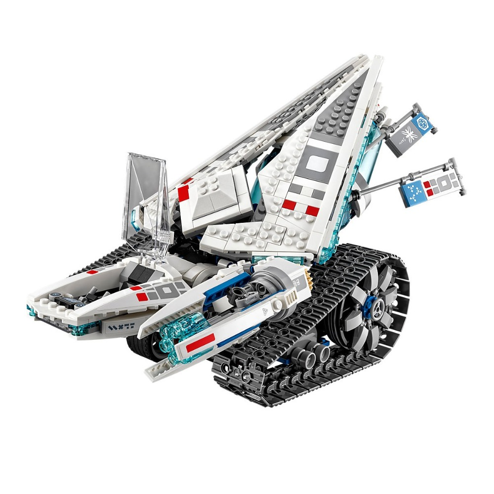 Lepin Ninjagoe 977PCS Building Blocks toys for Childrens Compatible Legoe Ninjagoe 70616 Bricks Model Ice Tank Kid gift