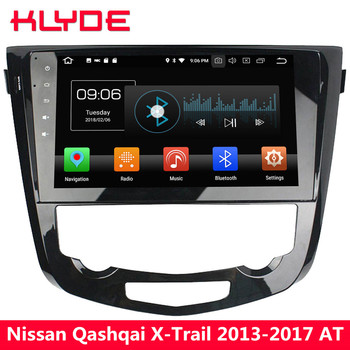 "KLYDE 10.1"" IPS 4G Octa Core Android 8 4GB RAM 32GB ROM Car DVD Multimedia Player Radio For Nissan Qashqai X-Trail AT 2013-2017"