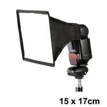 professional External Flash Softbox Mini Diffusers 15cm*17cm Diffusers 15x17cm Soft Box