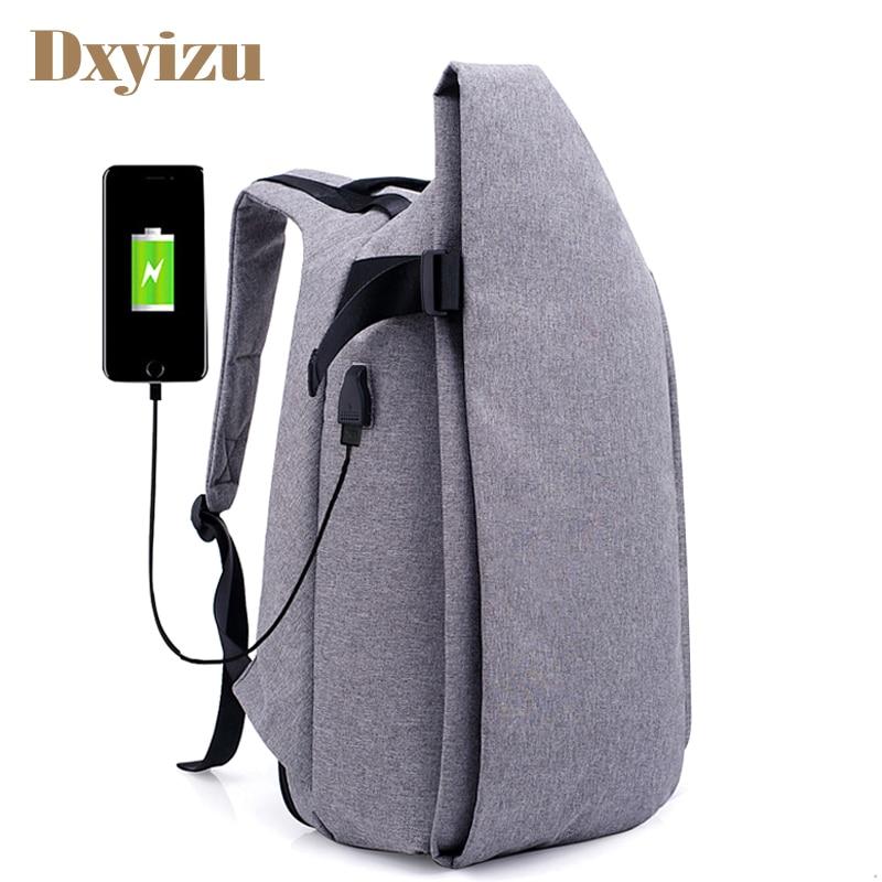 Men Nylon USB Backpack Softback Large Ca