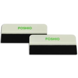 Image 3 - FOSHIO ممسحة من ألياف الكربون للسيارة ، أداة تغليف ، فينيل ناعم ، تظليل ، أدوات تنظيف زجاج السيارة ، 4 قطعة