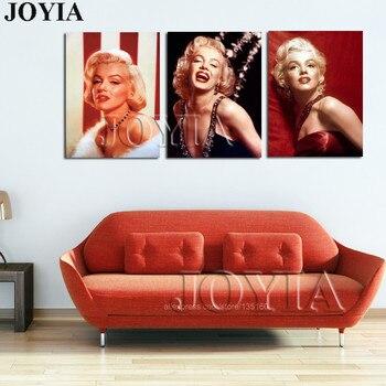 Marilyn Monroe Quadri di Figura Su Tela di Canapa della Tela di ...