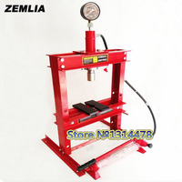10 Ton Press With Gague Double Column Gantry Hand Pneumatic Table With Hydraulic Presses