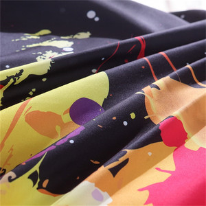 Image 5 - LOVINSUNSHINE Juego de ropa de cama con diseño de galaxia colorida, funda nórdica con funda de almohada, tamaño King y Queen, universo, 2 uds./3 uds.