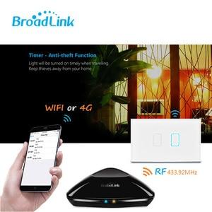 Image 2 - Original Broadlink TC2 US Standard RF Touch Panel Switch 123 Gang RM PRO Smart Home Universal Wireless WiFi RF Remote Control