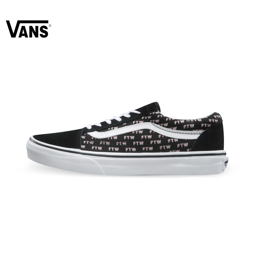 Original New Arrival Vans Women's Classic Old Skool Skateboarding Shoes Sport Outdoor Sneakers Canvas Comfortable VN0A38G1MQD original new arrival van classic unisex skateboarding shoes old skool sport outdoor canvas comfortable sneakers vn000d3hw00