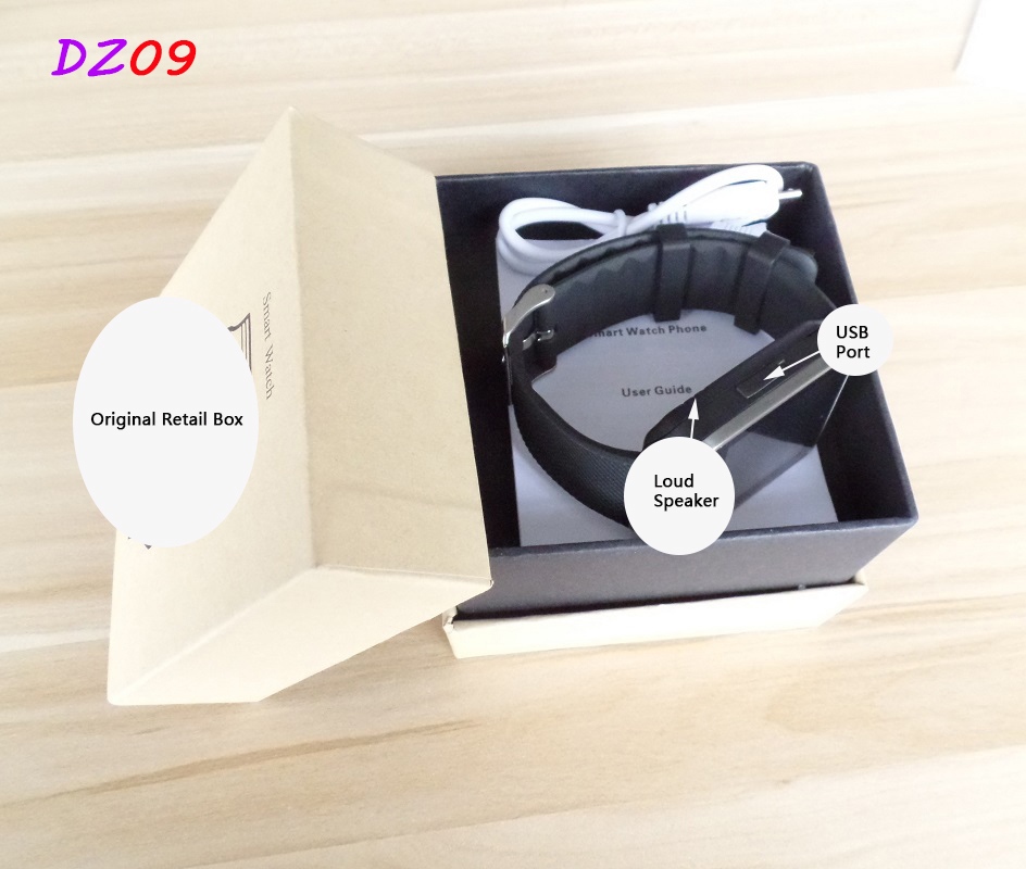 Hot Selling SmartWatch Bluetooth Smart Watch DZ09 For Apple/Samsung/Android/IOS Phone Wearable Watch Smart Mobile Syn SIM