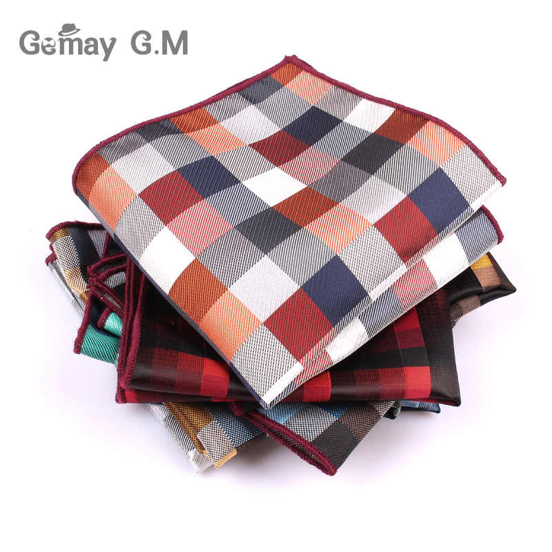 88af02ac4313 Brand Mens Handkerchief Classic Suits Pocket Square For Men Business Chest  Towel Hanky Gentlemen Polyester Yarn