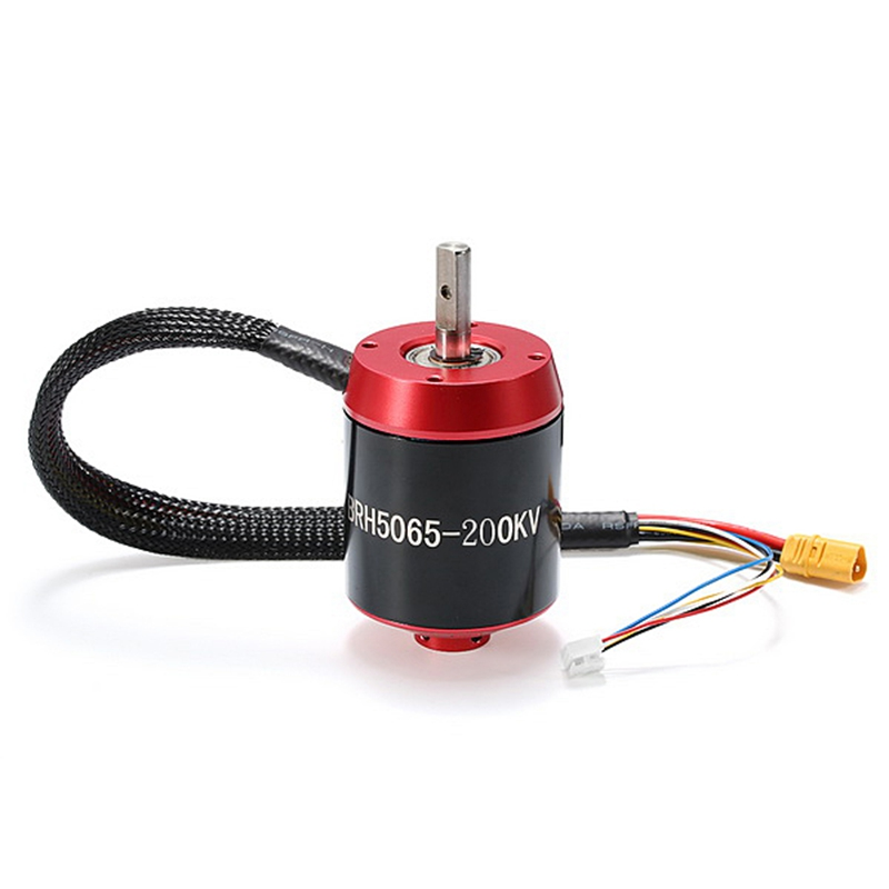 New Arrival Racerstar 5065 BRH5065 200KV 6-12S Brushless Motor Red Without Gear For Balancing Scooter