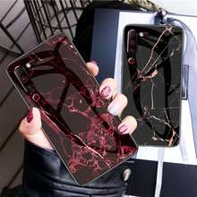 Fashion Shockproof Pattern Tempered Glass Phone Case For Global Version Lenovo Z6 Pro 9H Hard Cover On