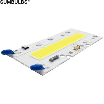 Sumbulbs AC 110V 220V COB LED Smart IC Chip 150W 100W 70W 50W 30W COB Bulb Lamp LED Light Source Warm Cold White for Floodlight image