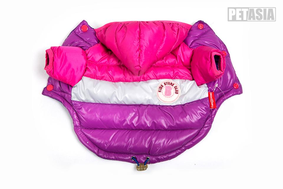 Winter Pet Dog Clothes Waterproof Warm designer Jacket Coat S -XXL Sport Style Puppy Hoodies Hat for Small Medium PETASIA 611