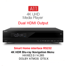 2017 Newest Egreat A11 4K UHD Media Player Hi3798CV200 2G/16G 2T2R WIFI Gigabit LAN HDR10 Blu-ray 3D Dolby smart media player egreat a8 tv box 4k uhd blu ray media player 2g 8g android 5 1 hdr kodi
