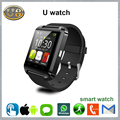 Bluetooth Smart Watch U8 WristWatch for iOS Android OS Smartphones