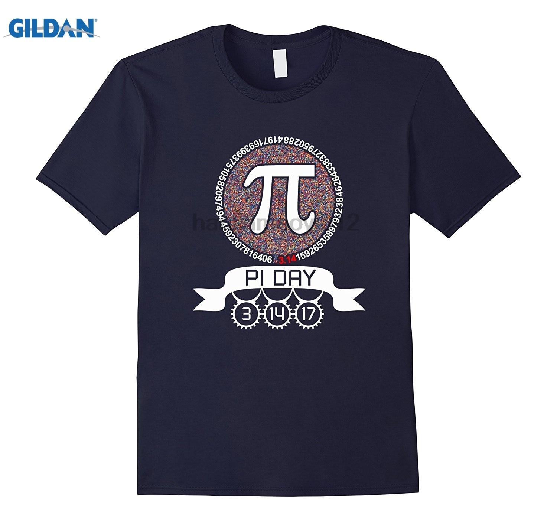 GILDAN 3.14.17 Math Geek Nerd Graphic Pi Day 2017 T Shirt Dress female T-shirt
