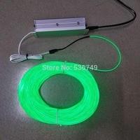 100M EL wire 100M 220V Neon TV Lights Dance Party Car Decor Light Neon LED lamp Flexible EL Wire Rope Tube Waterproof LED Strip
