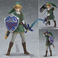 Anime Legend of Zelda Link With Skyward Sword Figma 153 Zelda PVC Action Figure Brinquedos Figuras Anime Collectible Kids Toys