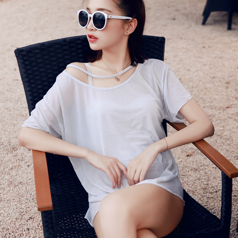 ФОТО NIUMO New Woman One-piece Swimsuit Triangle Swimsuit Small Chest Gather Together Hot Spring Swimwear Two Pieces