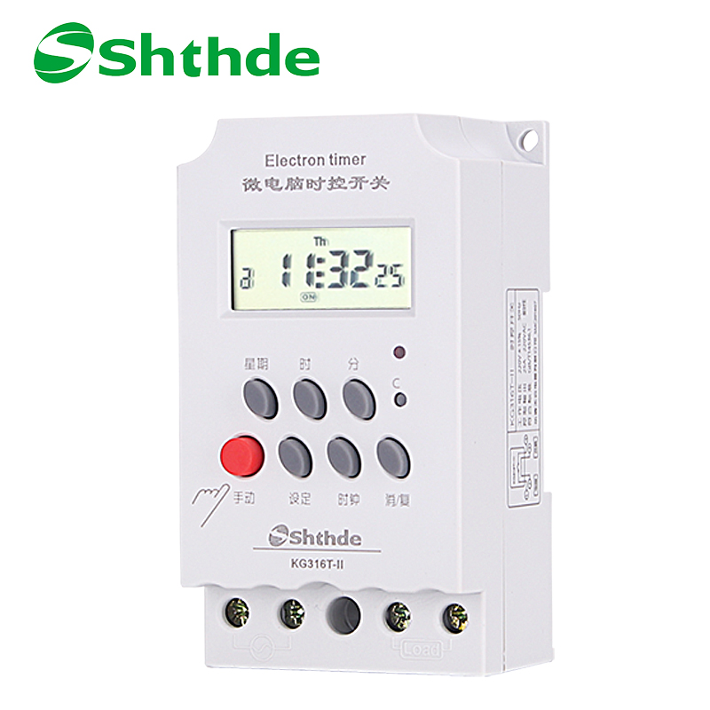 Shthde control switch  timer for household  lamp timer switch  bell instrument switch delay KG316T-II controller dc 12v led display digital delay timer control switch module plc automation new