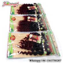 Eunice Hair Products 8Bundle Deep Curly Brazilian Kinky human weave Afro Weave short hair