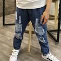 New Jeans  Boys Loose Ripped Jeans For Kids  Pantalon Jean Enfant Garcon Jeans 6BJ016