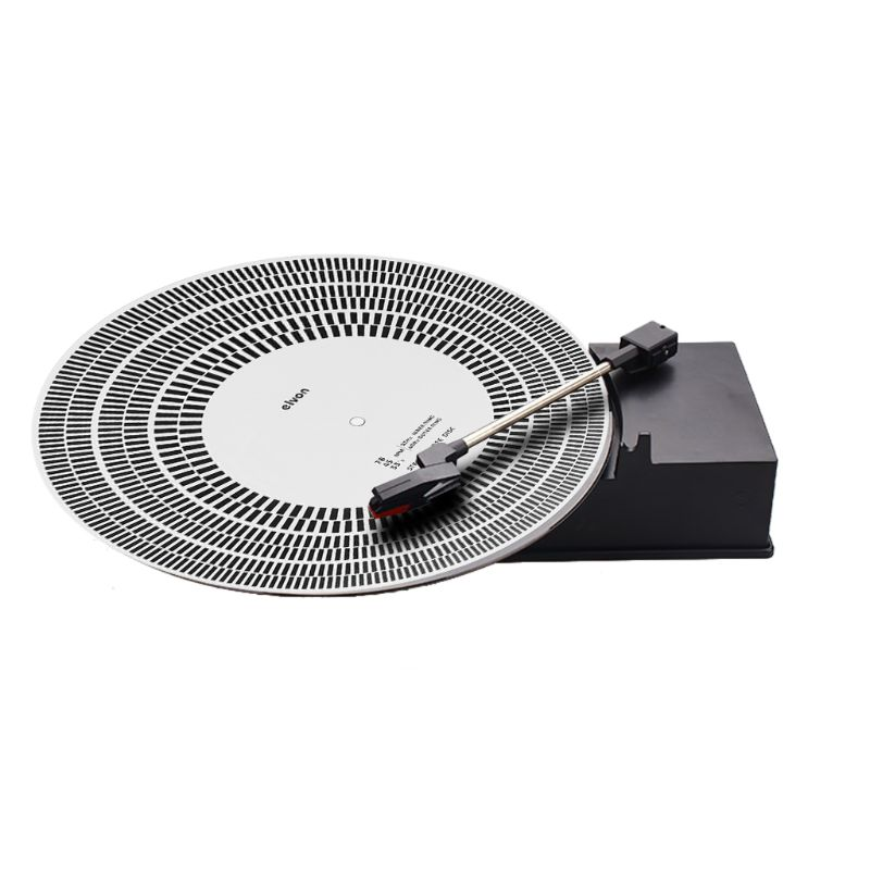 LP Vinyl Record Turntable Phono Tachometer Calibration Strobe Disc Stroboscope Mat 33 45 78 RPM in Turntables from Consumer Electronics