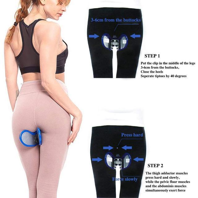 Pelvic Floor Inner Thigh hip trainer hjemmetrening utstyr
