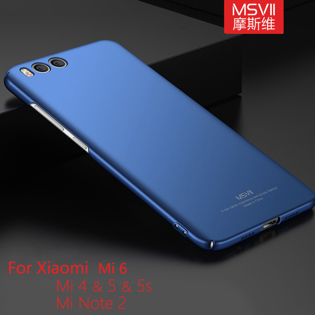 detailed look 8cc59 70dfb US $4.99 |Aliexpress.com : Buy Back Cover For Xiaomi Mi4 Mi5 Mi5s Mi6 Mi 6  Mi 4 Mi 5 5s Mi Note 2 Case Scrub Surface Plastic Cover Ultra Thin Phone ...