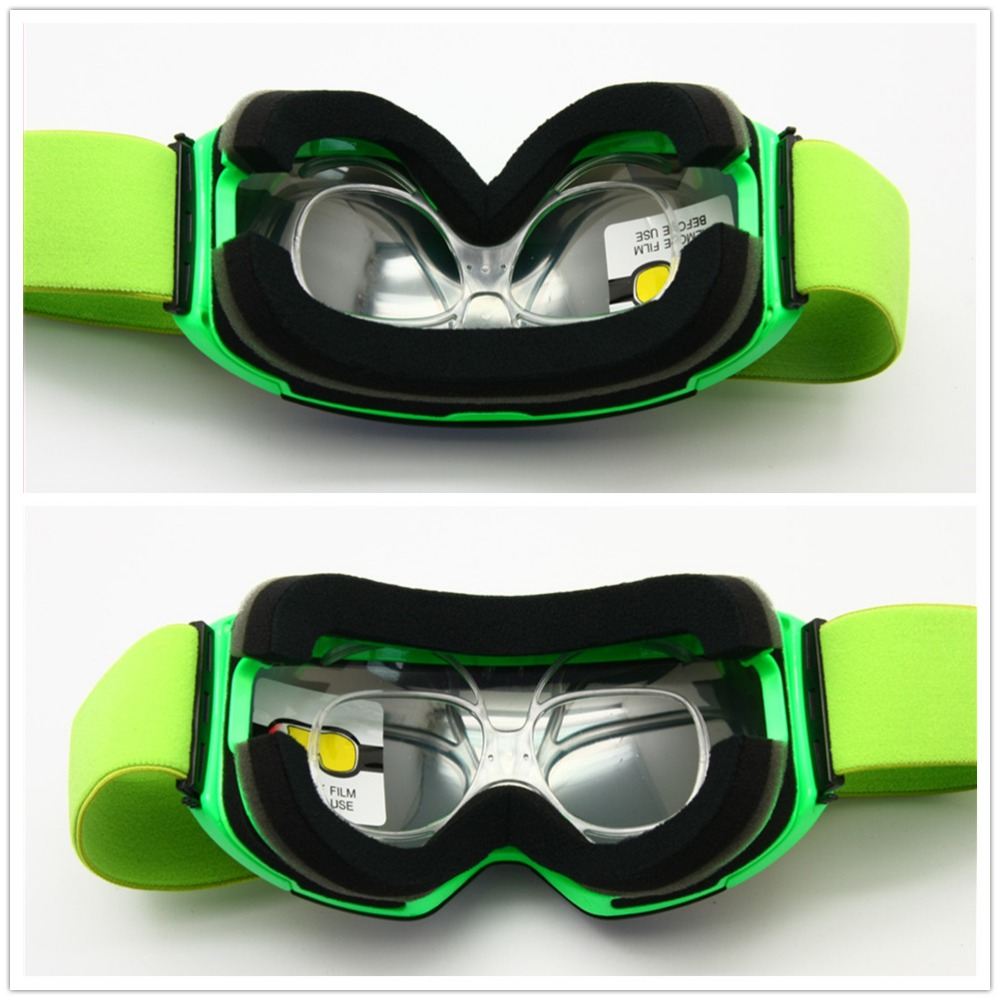 US $6.95 25% OFF|Prescription Ski Goggles Rx Insert Optical Adaptor TR90 Flexible Bendable Universal Size Inner Frame Snowboard Motorcycle Goggle|ski