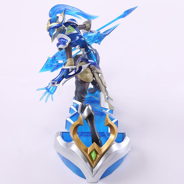 LOL League of Legends figure Action Game Kalista Model Toy action-figure 3D Game Heros anime party decor boy Creative Gift 1