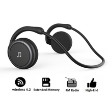 Arikasen Bluetooth earphone sport MP3 Player Headset FM Radio extended memory  wireless headphone player bluetooth headphone mic стоимость