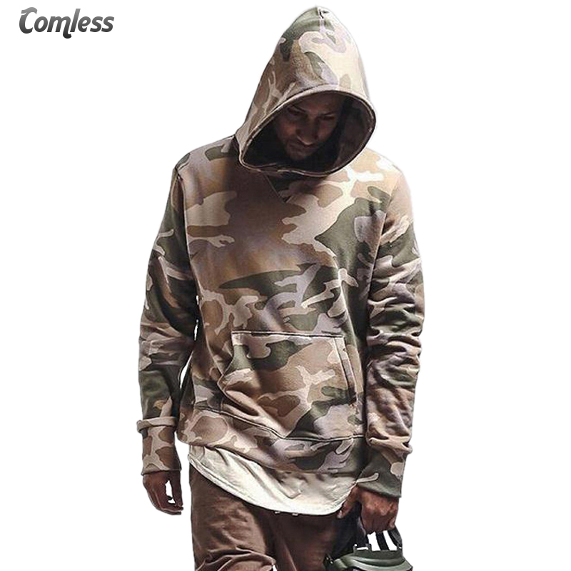 US $23.0 40% OFF|2017 New Fashion Mens Camouflage Hoodies Men Cotton Hip Hop Camo Trasher Hooded Tracksuit Sweatshirts And Hoodies Brand Clothing in