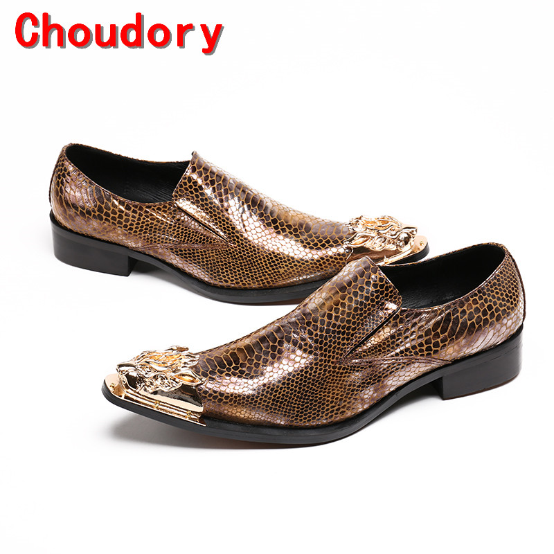 Choudory sapato social masculino mens pointed toe dress shoes python skin genuine leather oxford shoes for men prom shoes men party shoes oxfords 2015 hot men s genuine leather shoes brand sapato masculino couro social round toe palladium shoes 38 46