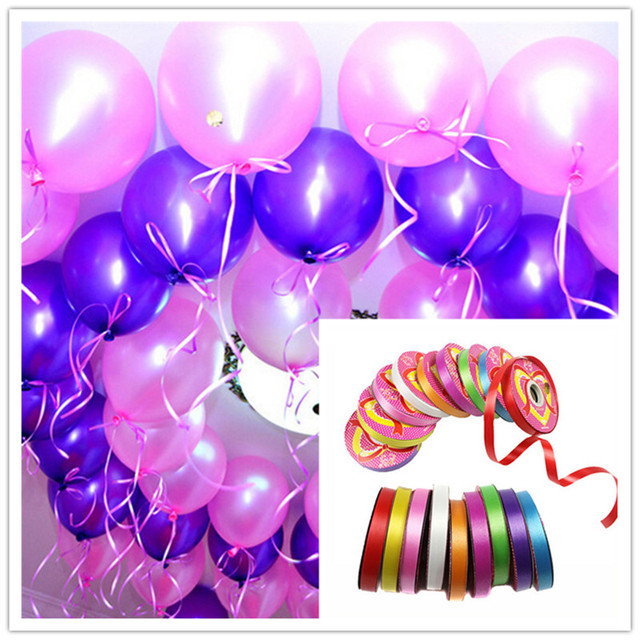 Balloon Ribbon For Wedding Party ChristmasBirthday Balloon