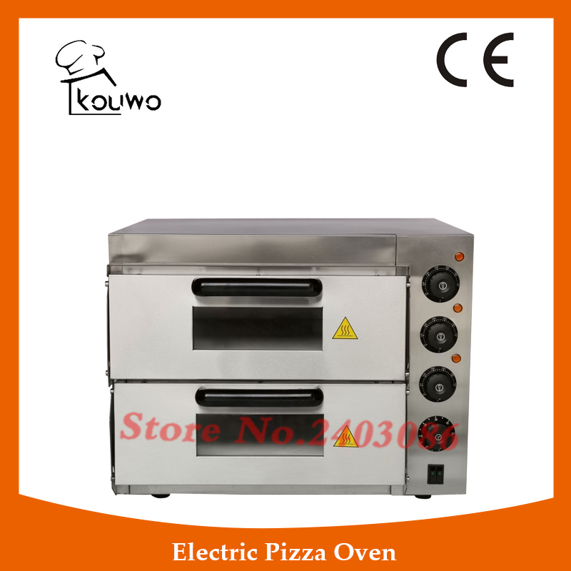 commercial catering equipment 2 layer temperature control electirc bread Pizza baking Oven for sale factory price pizza cone oven pizza cone machine pizza vending machines for sale