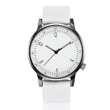 Женские кварцевые часы Роскошные Пластиковые кожаные аналоговые наручные часы женские часы бренд