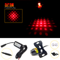 1X Supercool Motorcycle /Car AUTO Rear laser Anti collision lights Rear fog lamp Licence plate light warning Light of Football
