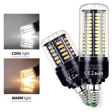 E27 LED Bulb E14 Corn Lamp 5736SMD Candle Light 220V 3.5W 5W 7W 9W 12W 15W 20W  For Home Chandelier 110V